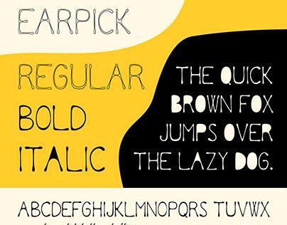 Earpick Font
