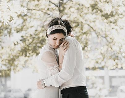 A Secret garden. -Wedding inspo. with Carolina & Pier-