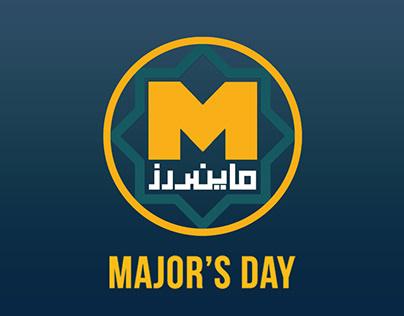 Minders' Major's Day IV | Social Media Designs