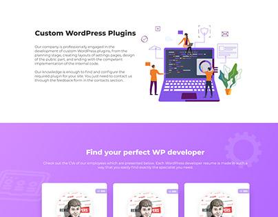 Дизайн сайта Plugin Development