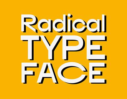Radical Typeface