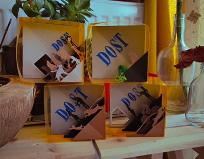 dost kitabevi | pop-up work