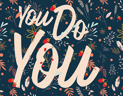 """You Do You"" Hand Drawn Printable Planner"