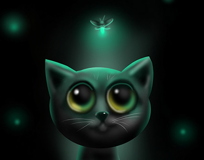Cat - Digital Painting (Tablet)
