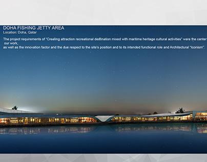 Doha Marina _Night render
