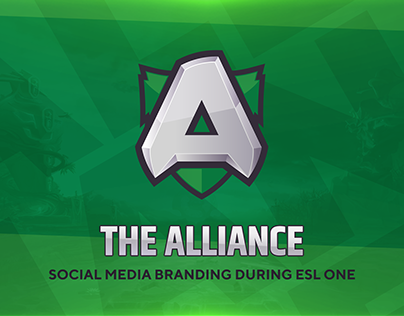 The Alliance eSports organization branding