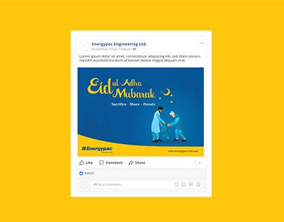 Eid ul Adha 2020 Facebook Post | Qurbani Eid