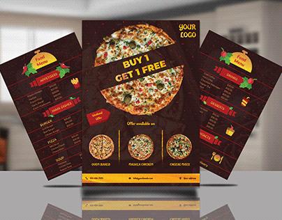 Food Menu and Flyer Design