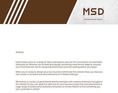Branding of Interior design company