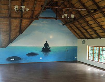 Bodhgayashanthi Sanctuary Mural