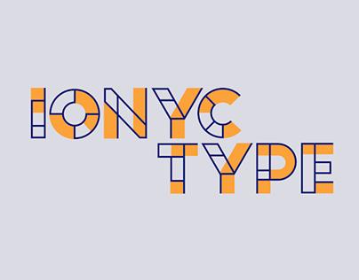Ionyc - Typeface