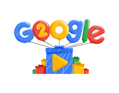 Google: 20th Birthday Doodle