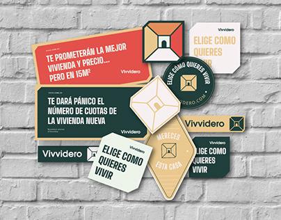 Vivvidero- Branding and Content
