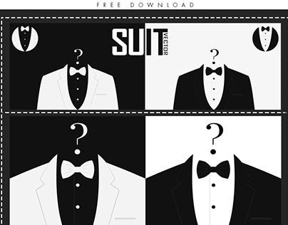Free Download man suit vector
