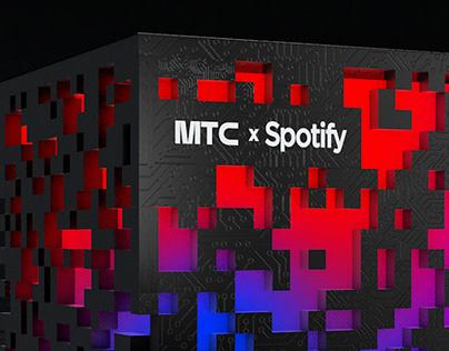 MTS x Spotify – Generative Box