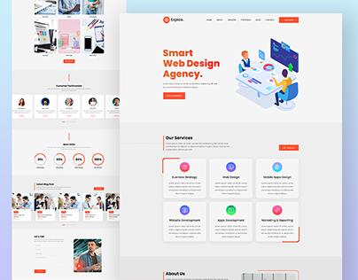 Digital Agency Web Template