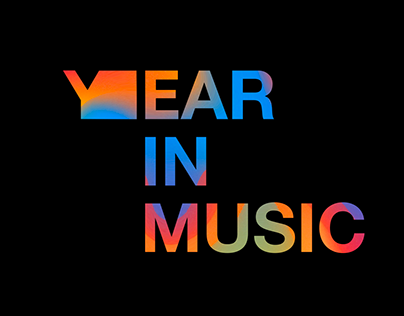 """Year in Music"" Logo Animation"
