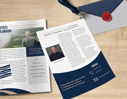 Flyer for Estate Planning Attorney