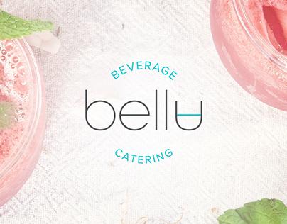 Bella Beverage Catering Brand Identity