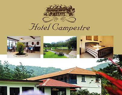 Flyer Hotel Campestre - Antón Panamá