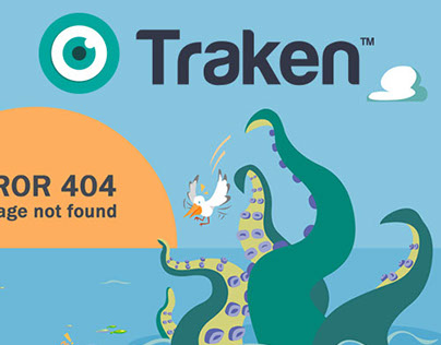 Traken App error illustration