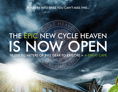 Cycle Heaven adverts