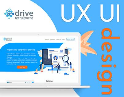 "Website for recruitment company ""Drive recruitment"""