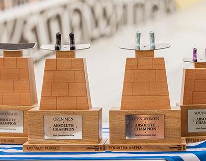Fort Constantine Cup trophies