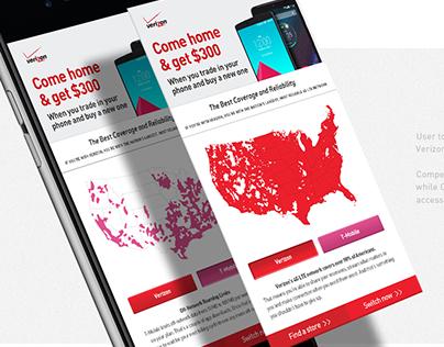 Verizon – competitive targeting