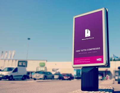 ADV - Campagna Stampa per la compagnia aerea WIZZ