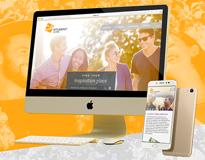 Front-End Development / Student Living Site