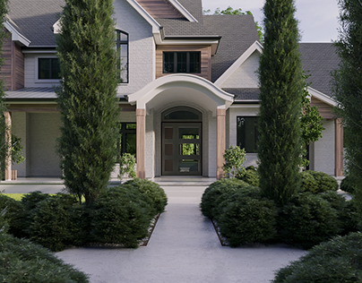 Robinson residence.