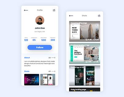 Profile App UI Kit