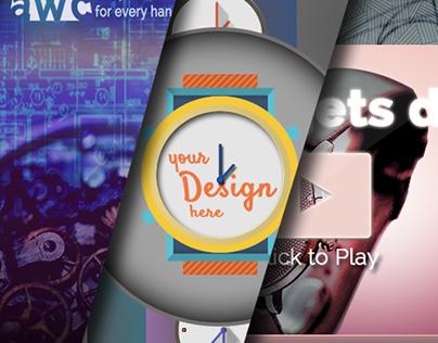 Watch company web design