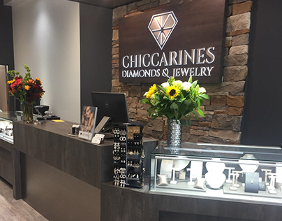 Chiccarines Diamonds & Jewelry design - Leslie McGwire