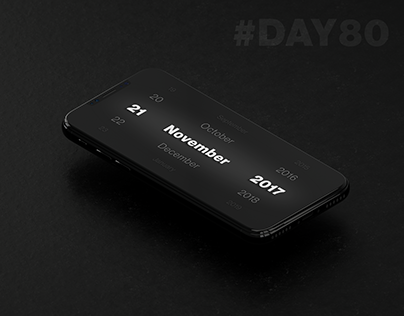 Daily Challenge - 080 - Date Picker
