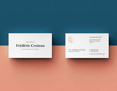 Branding Dr. Frédéric Croteau