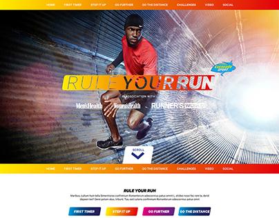 Men's Health, Women's Health, Runner's World,Lucozade