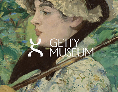 Getty Museum Rebrand