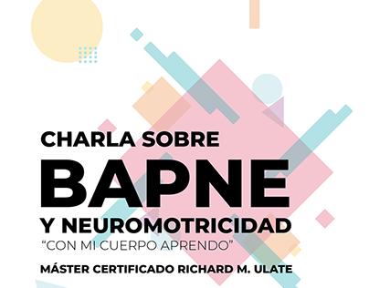 Afiche Digital Animado - BAPNE® Y Neuromotricidad -