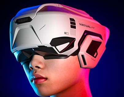 Virtuality Helmet