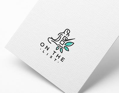 Logo design for On the List