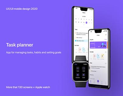 Mobile task planner app