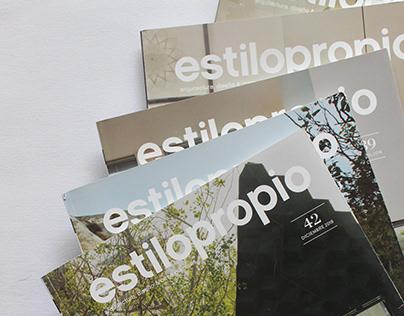 Editorial - Revista Estilo Propio