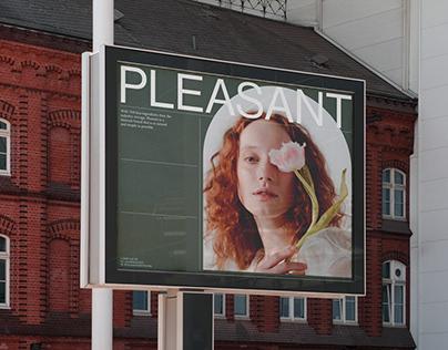 Pleasant - Brand Design