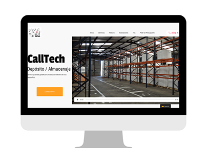 Call Tech Logistics - Web Corporativa