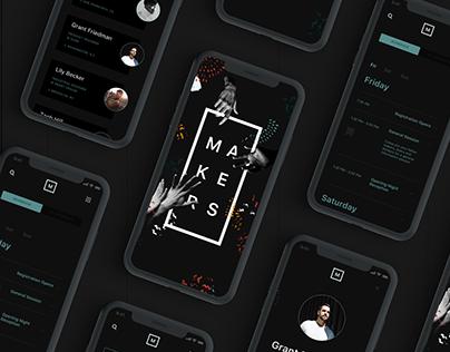 Makers Design Conference App