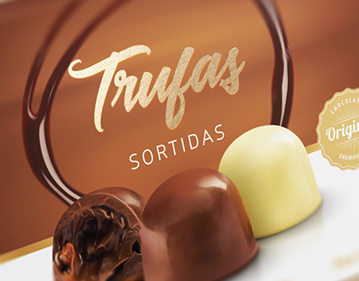 Chocolate Gramadense | Trufas Sortidas Packaging Design