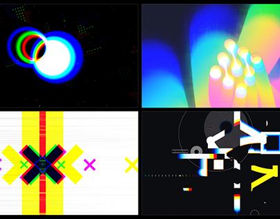 Distortion Glitch Logo Pack