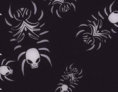 反射 (Reflection) - Spider Spins (Promotional Drawing)